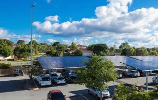 Arundel Plaza - Solar Car Park